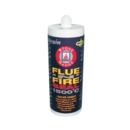 FLUE 'N' FIRE SEAL 1500c SILICONE BLACK