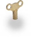 RADIATOR KEY BRASS