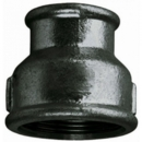 "BLACK IRON HEX REDUCING SOCKET 3/8"" x 1/4"" F x F"