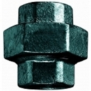 "BLACK IRON STRAIGHT UNION 3/4"" F x F"