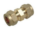 10MM COMPRESSION COUPLER STRAIGHT