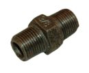 3/8 BSP BLACK IRON HEX NIPPLE