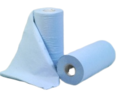 "BLUE PAPER ROLL 10"" 3 PLY"