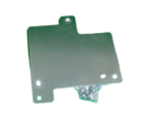 TOBY ADAPTOR PLATE & SCREWS FOR ZR ELECTRIC TOP 3904029