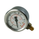 NUWAY OIL PRESSURE GAUGE GLYCERIN FILLED 1/8 0-600 PSI
