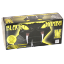 GLOVES BLACK MAMBA NITRILE BLK 120 EXTRA LARGE PER 100