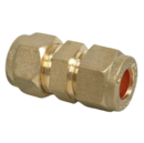 8MM COMPRESSION COUPLER STRAIGHT ADAPTOR