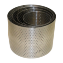 """DON PERFORATED SHELL SET AGA  6"""" D028 D10045 A2439"""