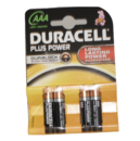 DURACELL AAA BATTERY PACK OF 4