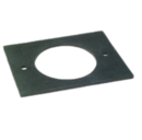 ECOFLAM BURNER MOUNTING GASKET MINOR 1 EPDM 18042001