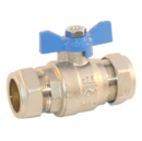 Grant Isolation Valve 22mm blue handle  MPCBS101