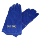 LARGE BLUE GAUNTLET PAIR SIZE 11 GLOVE