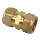 15MM COMPRESSION COUPLER STRAIGHT ADAPTOR 22000001