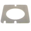 ECOFLAM MOUNTING GASKET ALPHA UPFIRE SQUARE SILICONE 6532109