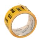 TAPE HAZARD WARNING 50mm x 33m Yellow / Black