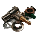 """CTS LEVER & FITTINGS ONLY FOR SIGHT GAUGE 1/2"""" M/F"""