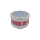 """Tape """"DANGER Do Not Use"""" 38mm Red/White"""