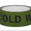 """Tape """"Cold Water"""" 38mm x 33m Black/Green"""